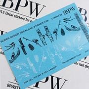 BPW.Style, Слайдер-дизайн «Птицы на дереве» №6-98, градиент фото