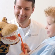 Лечение зубов у детей. Детская стоматология Киев фото