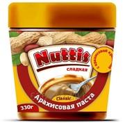 Арахисовая паста NUTTIS Классическая с кранчем фото