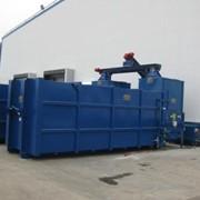 Стационарный пресскомпактор MBT для макулатуры, пленки, ПЭТ тары и других отходов. фото