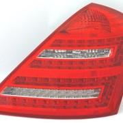 Задний фонарь Mercedes Benz W221 2009- LED фото