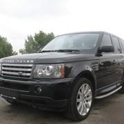Прокат авто Range Rover Sport фото