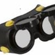 Очки газосварщика с комплектом затемненных и прозрачных стекол фото