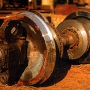 Ремонт колёсных пар дизель-поезда Д1 (моторная, бегунковая, прицепная) фото