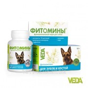 Фитомины для зубов и костей собак 100 таб Veda фото