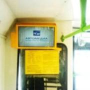 Видеореклама на мониторах в общественном транспорте фото