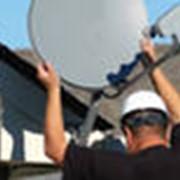 Установка спутникового ТВ фото