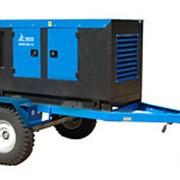 Трехфазный дизельный генератор АД-24С-Т400-1РМ13, 24кВт, в кожухе на шасси фото