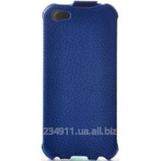 Чехол Eggo Flipcover для iPhone 5/5S Синий фото