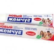 Зубная паста Новый Жемчуг кальций 75мл фото
