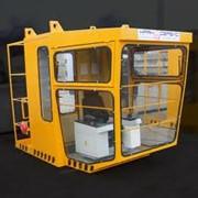 Изготовляем кабины управления крана с антивибрационным креслом оператора, кондиционером, электрообогревом, стеклоочистителями. Кабины управления машиниста крановые. Кабины управления мостовых кранов. фото