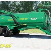 Машина для внесения жидких органических удобрений (бочка для транспортировки навоза) МЖУ-20 фото