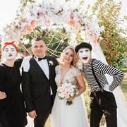 Мимы на свадьбу фото