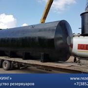 Резервуар горизонтальный стальной РГС 100м3 фото