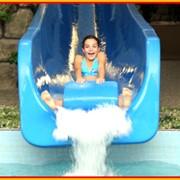 Водный аттракцион в аквапарке Джунгли для детей и взрослых - Супер скоростная горка «Свободное падение» фото