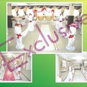 Услуги по свадебному цветочному оформлению в Актобе фото