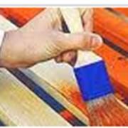 Средства огнезащиты древесины фото
