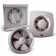 Осевой оконный (форточный) вентилятор с клапаном АРС 15-3-А фото