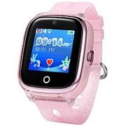 Часы Smart Baby Watch KT01 Wonlex розовые фото