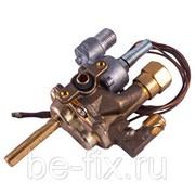 Кран газовый духовки для газовой плиты Indesit C00081476. Оригинал фото