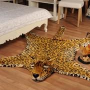 Коврик декоративный Леопард. Модель П-1671 фото