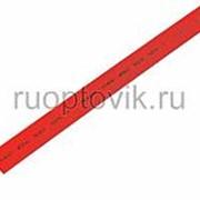12. 0 / 6. 0 мм 1м термоусадка красная REXANT фото