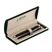 Комплект из перьевой и шариковой ручек в бархатном футляре Regal R68008.H.BF фото