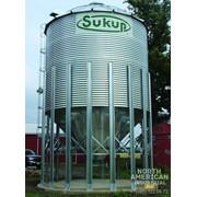Зернохранилища (силоса) для зерна с конусным дном - Sukup фото