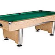 Бильярдный стол для пула Dynamic Triumph 8ф (дуб) в комплекте, аксессуары + сукно фото