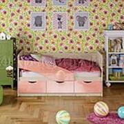 Детская кровать Бабочки фото