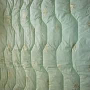 Одеяло бамбуковое 300 Г всесезонное в 100% хлопке - тике фото