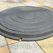 Люк канализационный полимерный фото