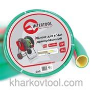 Шланг для воды 4-х слойный 1/2, 20м, армированный, PVC Intertool GE-4103 фото