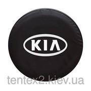 """Чехол для запасного колеса. """"KIA"""" 65х25 фото"""