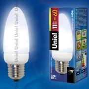 C Лампы-свечи ESL-C11-P11/4000/E27 картон фото