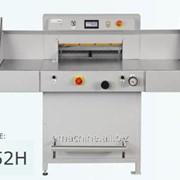 Гидравлическая бумагорезальная машина GRAFCUT 52H фото