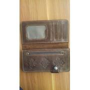 Кожаные портмоне фото