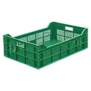 Ящик пластиковый фруктовый арт 106 фото