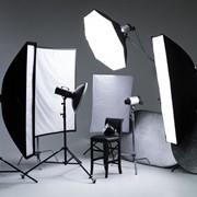 Готовые комплекты студийного света фото