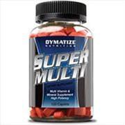 Dymatize Super Multi (120 caps). Витаминно-минеральный комплекс. фото