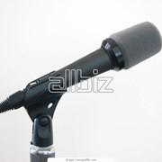 Микрофоны звуковые фото