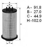 Элемент топливного фильтра MB, двиг. OM906 MAHLE Filter — Германия фото