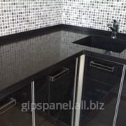 Кухонные столешницы с мойкой из искусственного камня фото