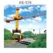 Кран-лесопогрузчик КБ-578. фото