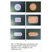 Формующие элементы для производства сахарного печенья фото