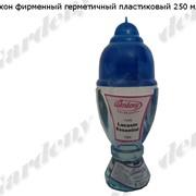 Флакон фирменный герметичный пластиковый 250 мл. фото