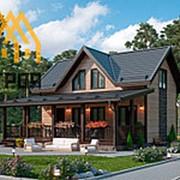 Проект №168 (Дом из профилированного бруса 145:145) фото