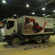 Брендирование грузовых автомобилей фото