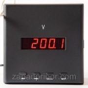 Щитовой цифровой вольтметр переменного тока фото