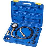 Манометр для измерения давления масла, 0-10 бар, комплект адаптеров МАСТАК 120-20010C фото